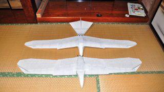 羽ばたき機の滑空システム(グライダーモード)考案