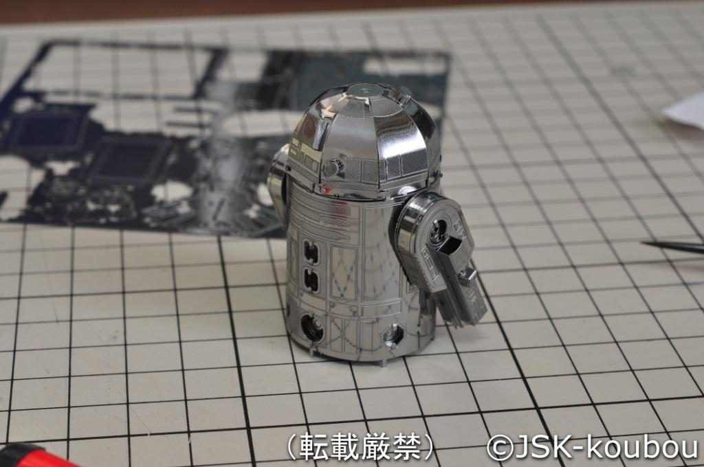R2-D2らしくなってきました