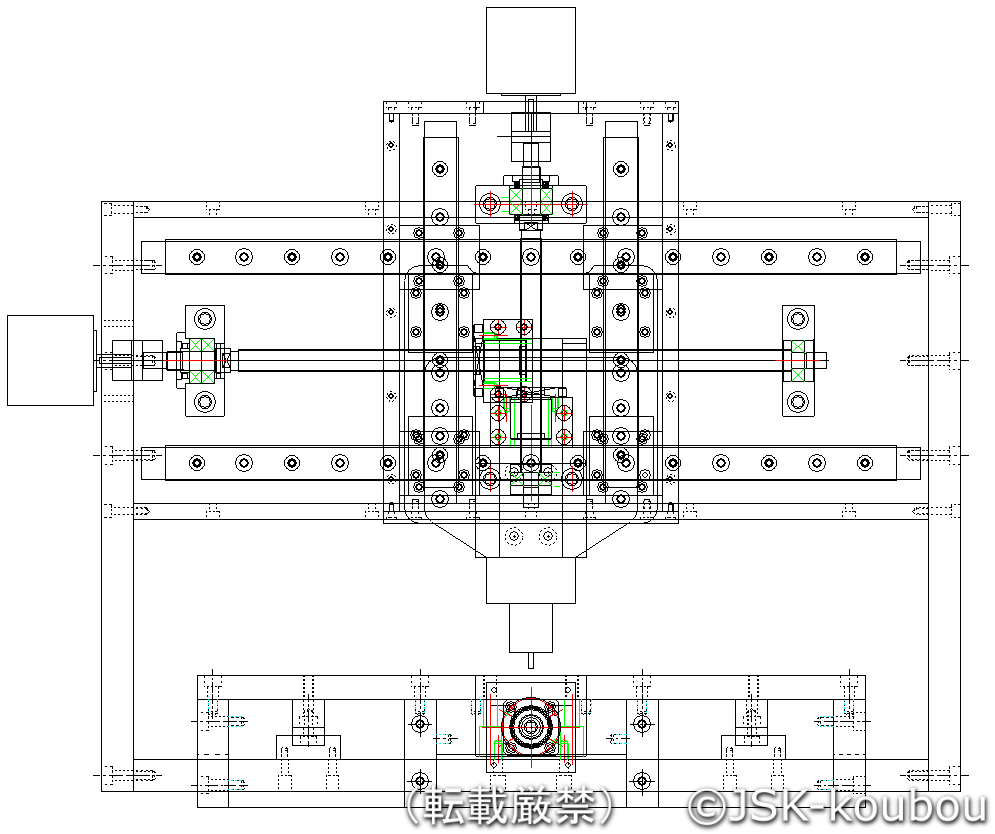 自作CNC設計図