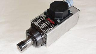 Teknomotor製スピンドルを自作CNCフライスに採用