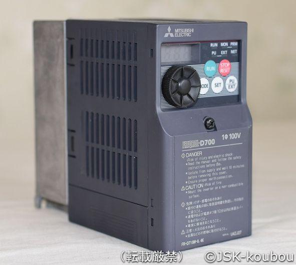 三菱電機(制御) FR-D710W-0.4K