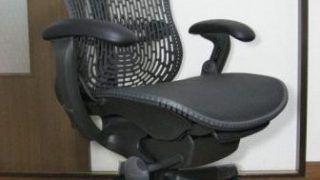 Mirra chairの分解修理 「ガス圧シリンダー」の補修