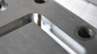 自作CNCフライスのアルミ切削