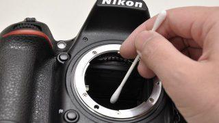意外と簡単!一眼レフカメラのイメージセンサーのクリーニング方法